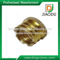 forged precision brass thread knurling cap nuts