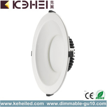 مرنة 10 بوصة LED Downlights 3000K IP54