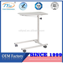 stainless steel medical platform serving trolley cart