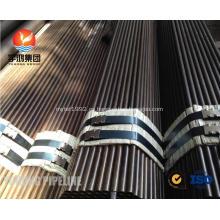 Tubo sin soldadura de acero aleado ASTM A209 T1, T1A, T1B, ASTM A210 A1, DIN 1629 St52.4, St52, superficie de revestimiento, extremo liso, M / W