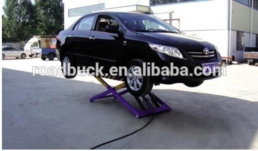 Scissor Hydraulic Portable Car Washing Lift/car washing lift