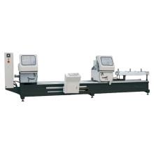 LJZ2-CNC-500X4200 CNC double head miter saw angle cutting machine for aluminum and pvc