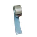 Битумная лента из алюминиевой фольги серебристого цвета