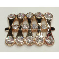 Moda Alloy Shoe Buckles Com Rhinestone, Popular Lady Shoe Buckle