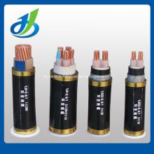 Câble d'alimentation électrique gainé de PVC de SWA isolé par conducteur de cuivre XLPE