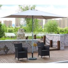 Металлические square garden sun shade parasol