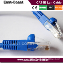 Blue RJ45 to RJ45 networking cat6 cable