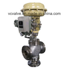 Control Valve with Actuator