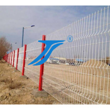 Factory Direct Wholesale PVC Coated Curvy Welded Fence for Sale