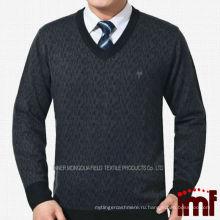 Последний пуловер для бизнеса Модный свитер для мужчин среднего возраста Поставщики