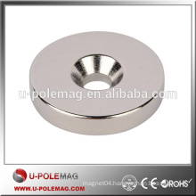 Magnet Assembly Permanent Magnet with Countersink