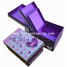 Caixa de presente de chocolate