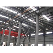 Vorgefertigte Stahlkonstruktion Raumrahmen für industriellen Einsatz