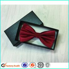 Embalaje barato de las cajas de corbata de lazo