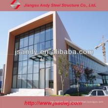 Китай Фабрика Лучшая цена Индивидуальная алюминиевая стеклянная занавеска