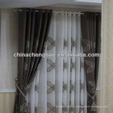 Tecido de cortina florido