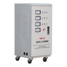 SVC-3 TNS 6KVA 9KVA Three Phase Servo Motor AC Automatic Voltage Regulator Stabilizers Price