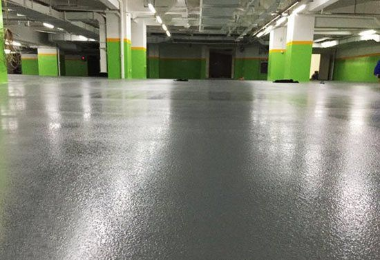 Silent Microbead Wear Resistant Epoxy Flat Coating
