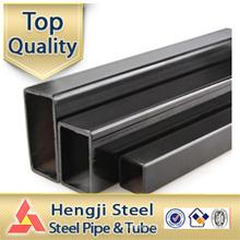Black ERW Tubos rectangulares secção oca