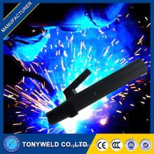 Novo design de cobre / suporte de eletrodo de latão suporte de eletrodo de cabo de soldagem 150 / 500amp