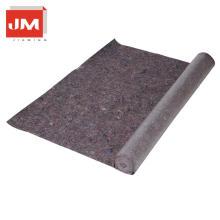 laminiertes Spunbondvlies Polyesterfilzmaterial wasserdichte Teppichunterlage mit PE-Beschichtung