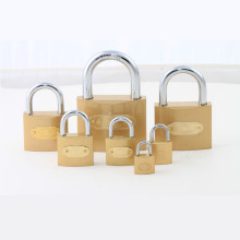 Factory Supply High Quality Imitate Brass Padlock with Logo Stick