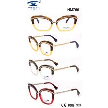Лучший дизайн ацетат очки для оптовой продажи (HM766)