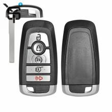 High quality OEM 4+1button car key frequency for Ford car key remote control car key shell