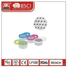 Râpe ronde en plastique avec container et poignée