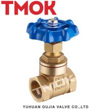 high quality forged brass gate medium pressure flash board full port aluminum handwheel brass gate valve with certificate