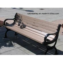Mesas e cadeiras ecológicas do WPC da paisagem