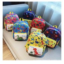 Wholesale kindergarten 3D dinosaur bag cute kid unisex waterproof backpack shool bag