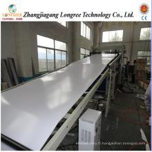 Chaîne de production de feuille de plastique de PVC de 0.2-2mm