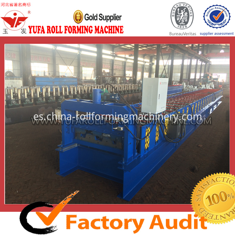 688 structural decking floor forming machine