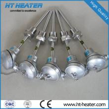 Capteur de thermocouple à température de gaz en acier inoxydable
