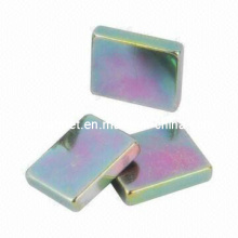 Magnets with Color Zn Coating