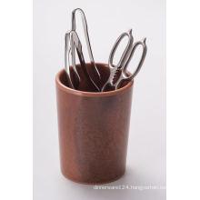 Melamine Chopsticks Holder/Natural Wooden Color (NK16113)