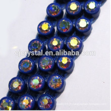 Haute qualité Rhinestone Cup Chain BULK Crystal Rhinestone Trimming Wholesale