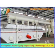 Secador de lecho fluidizado vertical para industria química