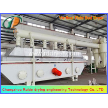 Vertical fluid bed dryer for chemical industry