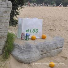 bolso reutilizable respetuoso del medio ambiente, bolsos de compras reutilizables baratos al por mayor