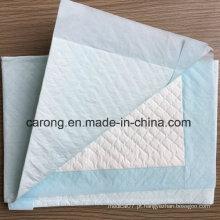 Papel não tecido Produtos impermeáveis e descartáveis para produtos médicos Underpad