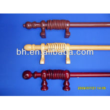 treated wooden poles