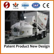 MB1800 móvel planta de lote de concreto para venda China Fabricação