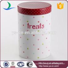 Frasco de cerámica del animal doméstico del punto colorido de la etiqueta moderna del estilo