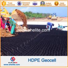 Precio de fábrica de plástico HDPE Geocells para estable El camino de la carretera
