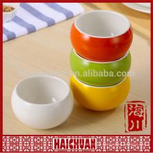 Keramik Farbe rund bakeware Snack Schüssel Brothalter Salat Schüssel Kuchen Bakeware