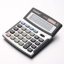 Calculadora de plástico negro