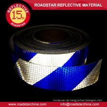 Hohe Sichtbarkeit Streifen PVC Reflektorband für Fahrzeuge