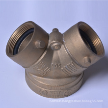 4''*21/2''*21/2''' Fire Department Connection Siamese Y type Single Clapper Siamese FM/UL Listed